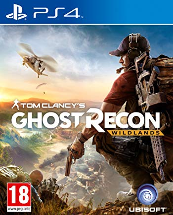 Tom Clancy's ghost recon wildlands PS4 cover