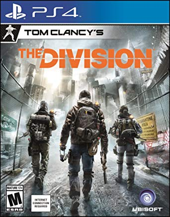 Tom Clancy's the division PS4 cover